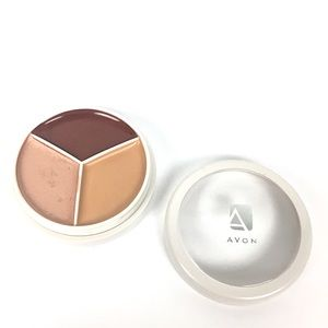 5/$25 Avon Flawless Trio Brown Wheelin' Eye Lip